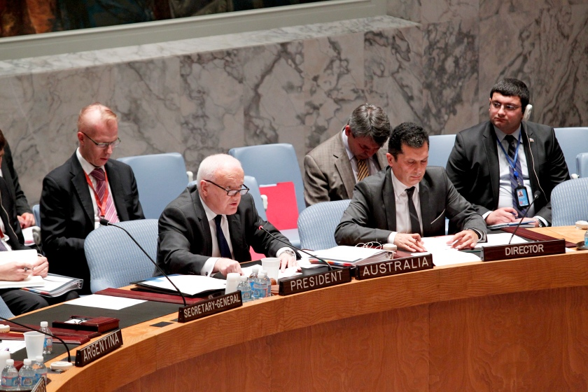 Security Council Meeting on Non-proliferation